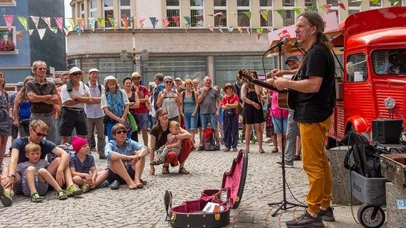 Impressionen vom Rudolstadt-Festival 2019