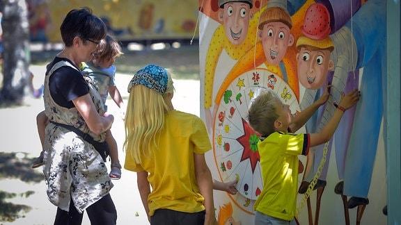 Kinderfest Laulupidu im Heinepark