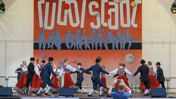 Kuljus Ensemble auf der Markbühne