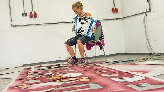 Rudolstadt-Festival - Karoline Müller vom Stadtgestalter-Team