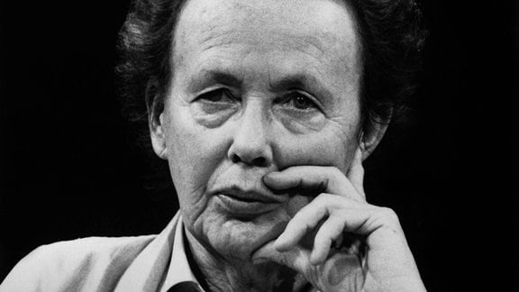 Ruth Berghaus, deutsche Regisseurin, damals DDR - 1989