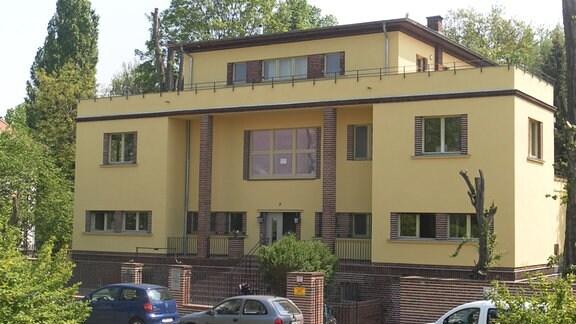 Gebäude des Sächsischen Psychiatriemuseums