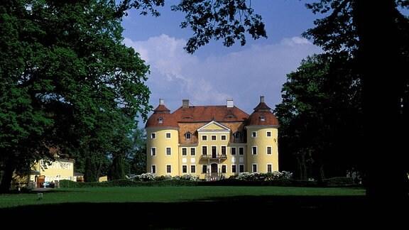 Schloss Milkel in der Lausitz