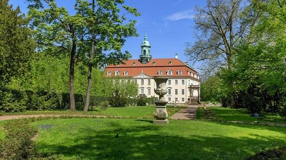 Barockgarten am Schloss Lichtenwalde