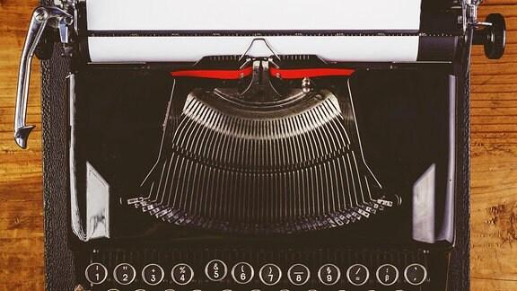 Eine alte Schreibmaschine