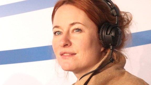 Katrin Schumacher  auf der Leipziger Buchmesse 2015