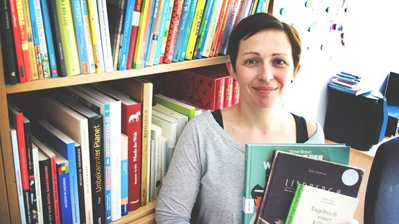 Britta Selle stellt Kinderbücher vor