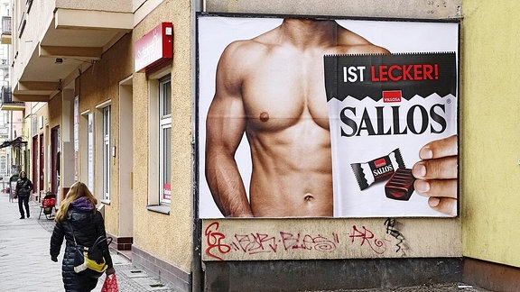 Sexistische Werbung - 'Sallos ist lecker!'