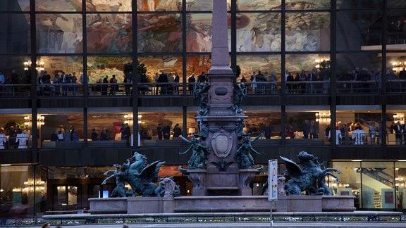 Gewandhaus am Leipziger Augustusplatz