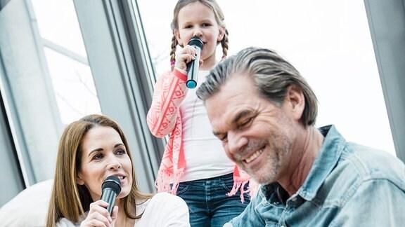 Eine singende Familie