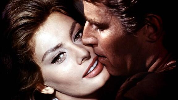 Sophia Loren mit Charlton Heston in 'El Cid'