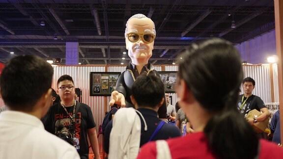 Figur von Stan Lee