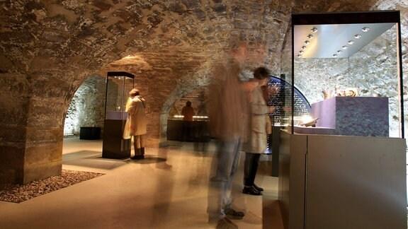 Eröffnung der Ausstellung - Jüdischer Schatz - in der Alten Synagoge in Erfurt