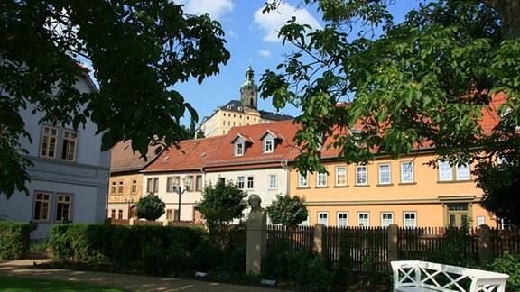Schillerhaus - Burgblick.