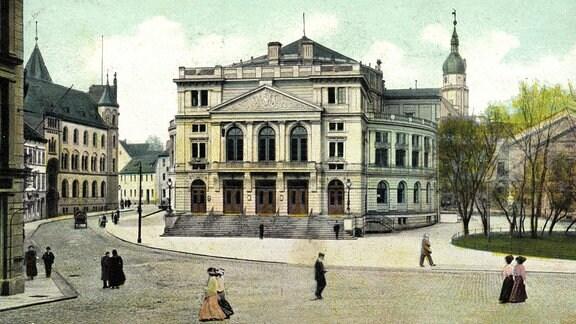 Herzogliches Hoftheater Altenburg 1909