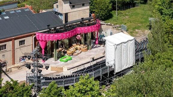 DNT-Sommertheater open air im e-Werk Weimar