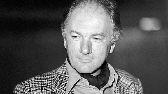 Der österreichische Roman- und Theaterautor Thomas Bernhard,