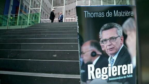 ''Regieren'' – Thomas de Maizière gibt Einblicke in seinem neuen Buch.