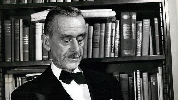 Der Author Thomas Mann
