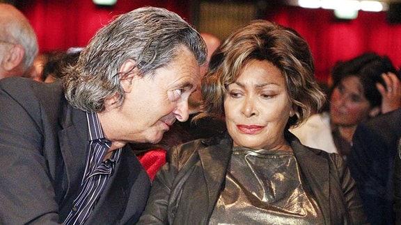 Tina Turner mit ihrem Lebensgefährten Erwin Bach 2011