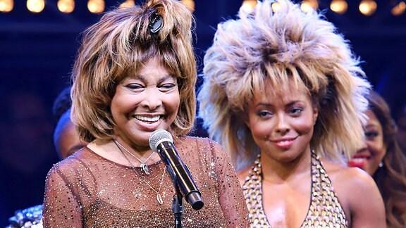 Tina Turner und Adrienne Warren 2019