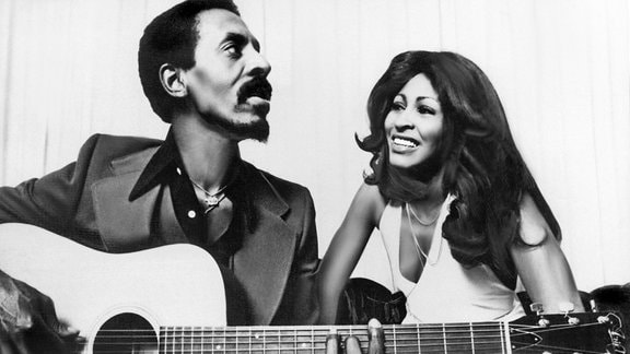 Ike Turner und Tina Turner 1973