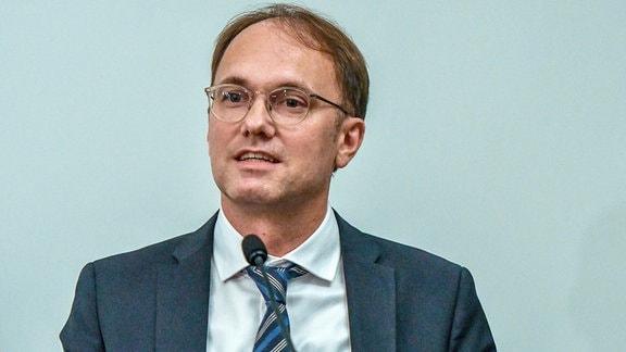 Tobias Knoblich, Kulturdezernent der Stadt Erfurt