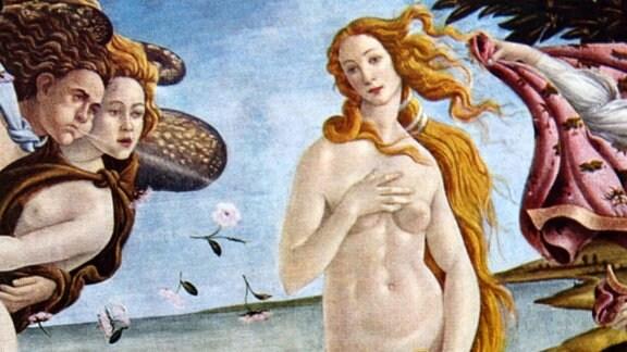 """Gemälde """"Geburt der Venus"""""""