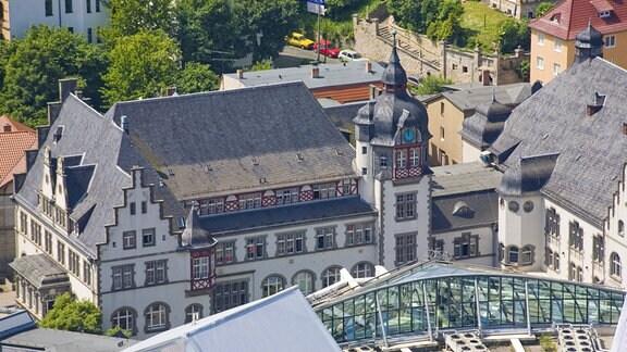 Philharmonie und Volkshaus in Jena
