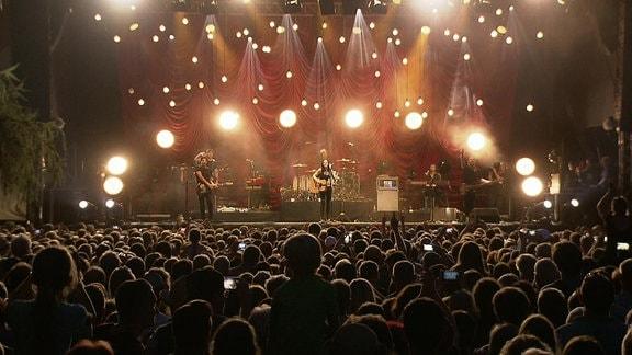 Bild von einem Pop-Konzert