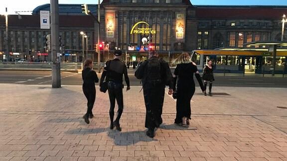 WGT am Pfingstsonntagabend 2018 in Leipzig