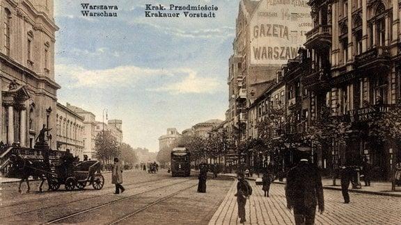 Warschau um 1912