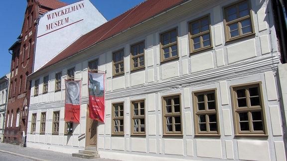Das Winckelmann-Museum in Stendal vor der Neueröffnung