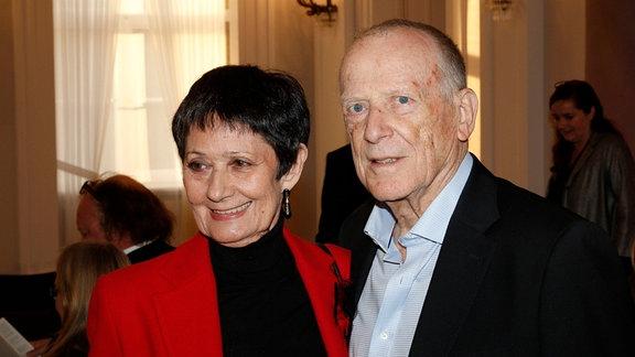 Wolfgang Kohlhaase mit Ehefrau Emöke Pöstenyi