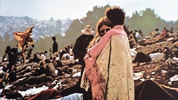 Woodstock Festivalbesucher 1969