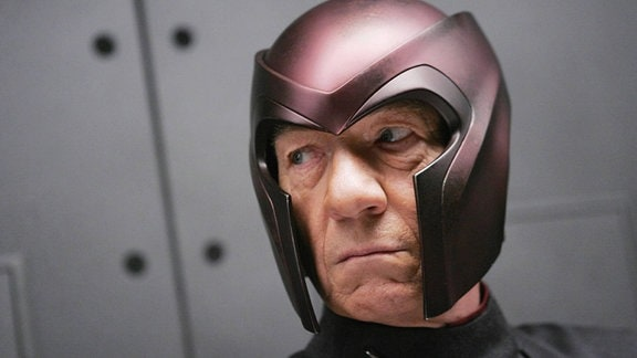Ian McKellen im Film X-Men