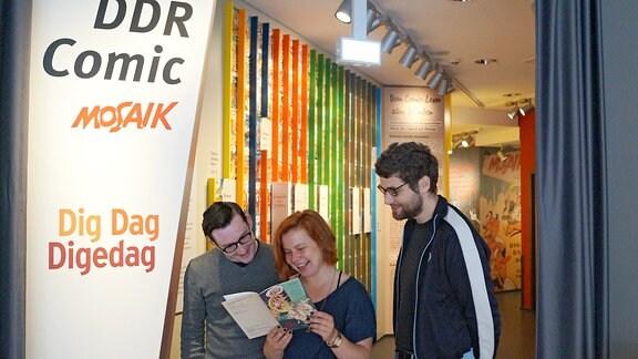Mosaik-Ausstellung im Zeitgeschichtlichen Forum Leipzig