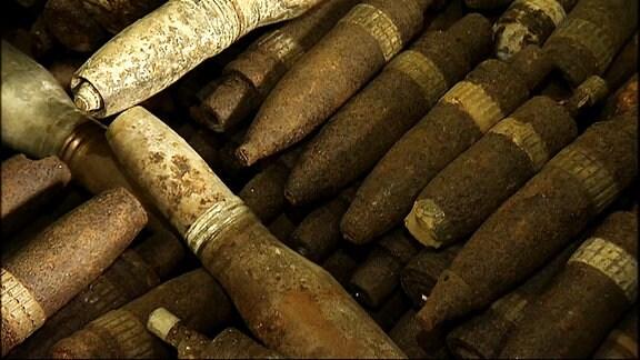 Bomben aus dem 2. Weltkrieg