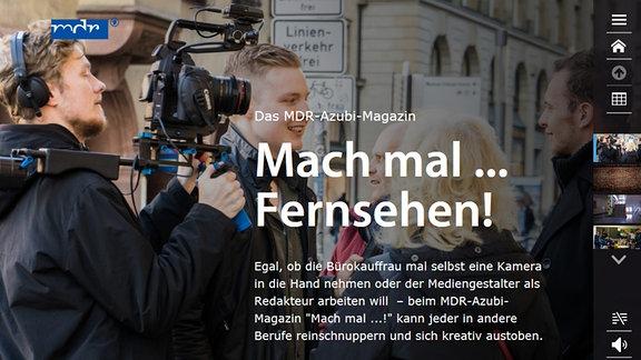 """Screenshot von """"Mach mal ... Fernsehen!"""""""