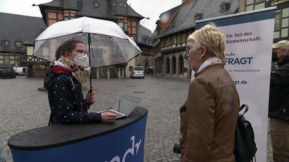 Bürgerbefragung in Wernigerode