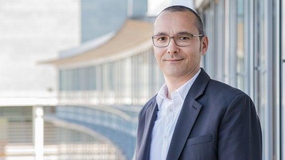 Mike Heerdegen-Simonsen, Leiter Redaktion Nachrichten Hörfunk