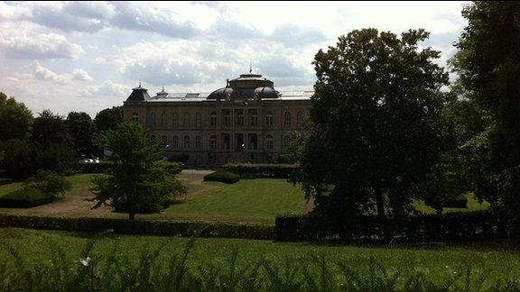 Außenansicht des Herzoglichen Museums Gotha
