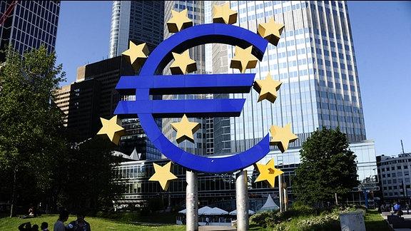 EZB in Frankfurt/Main.