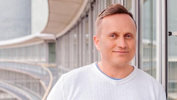 Jörg Schröder, Redakteur und Moderator im Wetterstudio