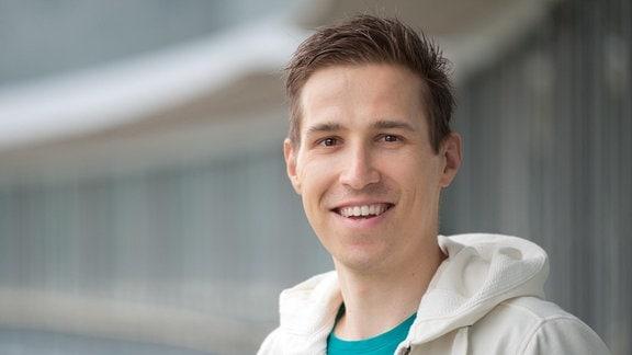 Florian Rost, Redakteur und Moderator im Wetterstudio