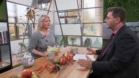 Diana Fritzsche-Grimmig und Volker Kölzsch