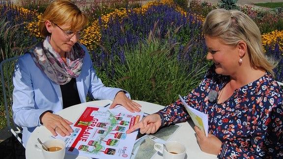 Interview mit der Buga 2021- und egapark-Geschäftsführerin Kathrin Weiß