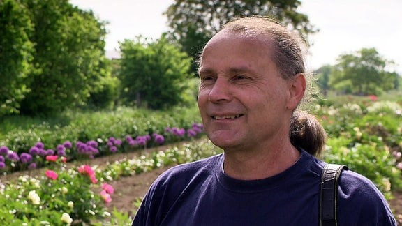 Pfingstrosenzüchter Steffen Schulze