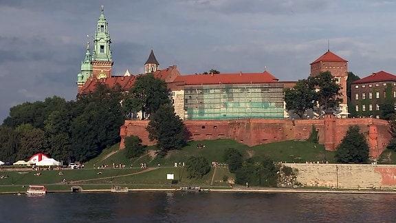 Wawel-Schloss in Krakau