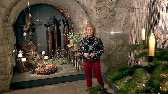 Diana Fritzsche-Grimmig im Domfelsenkeller in Erfurt